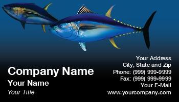 Tuna fishing business cards at13495 colourmoves Gallery