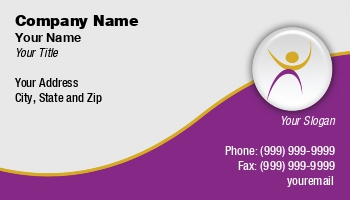 Youth organization business cards enlarge template template details at108660 reheart Gallery