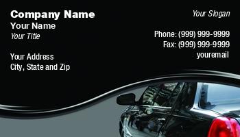 Car Service Business Cards