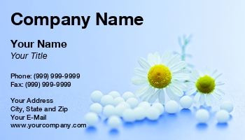 Homeopathic Business Cards