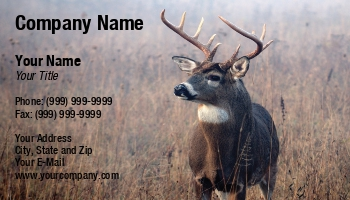 Trophy hunting business cards at116748 colourmoves