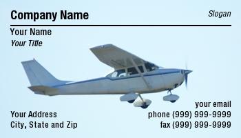Flight Instruction Business Cards