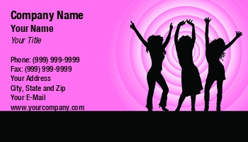 Zumba business cards enlarge template template details at118732 reheart