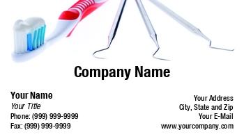 Dental hygienist business cards at119996 colourmoves