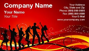 Dj 039 S Business Cards