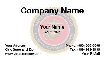 Marine corps business cards marine corps enlarge template at120293 colourmoves