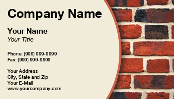 Building Materials Business Cards