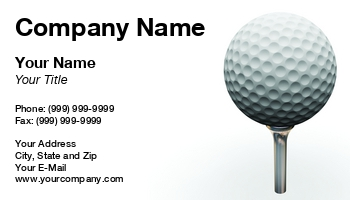 Miniature golf business cards at131781 colourmoves