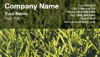Groundskeeper business cards enlarge template template details at133689 friedricerecipe Gallery