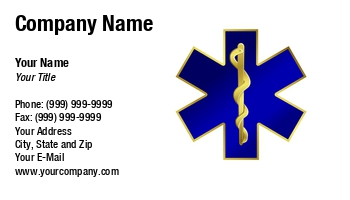 Ambulance service business cards at133735 colourmoves Image collections