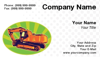 Demolition business cards at151337 colourmoves