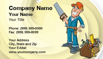 Carpenter business cards enlarge template template details at171367 fbccfo Choice Image