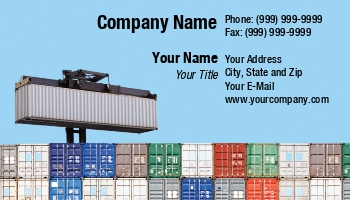Freight Forwarding Business Cards