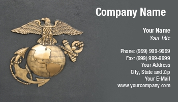 Marine corps business cards at176211 colourmoves
