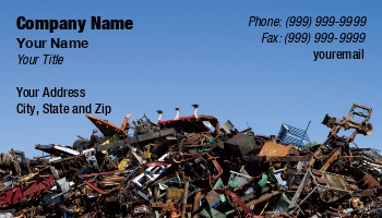 Waste management business cards at170743 reheart Choice Image