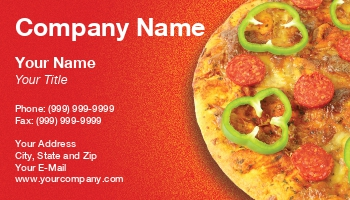 Delivery service business cards at193485 colourmoves Choice Image