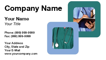Home Health Care Business Cards