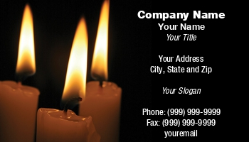 Candle maker business cards at29623 colourmoves Choice Image