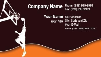 Basketball business cards at201091 colourmoves