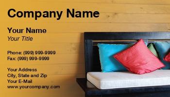 Hospitality Service Business Cards