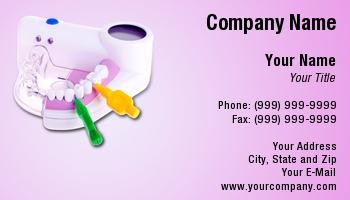 Dental hygienist business cards at222998 colourmoves