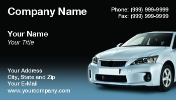 Automobile business cards at235894 reheart Choice Image