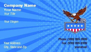 American Legion Business Cards