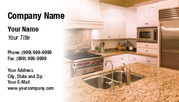 Cabinetry Business Cards