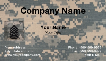 Army officer rank insignia business cards at35039 colourmoves