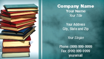 Bookstore business cards at35444 reheart Gallery