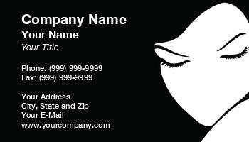 Plastic Surgery Business Cards - Esthetician business card templates