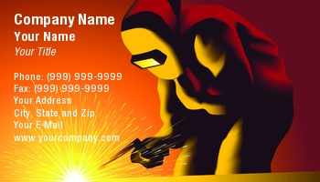 Welding business cards templates arts arts welding worker business cards colourmoves