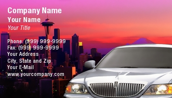 Chauffeur Business Cards
