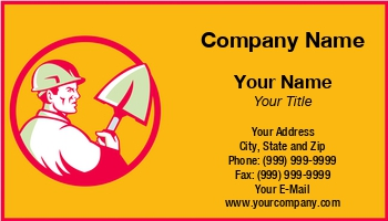 Demolition business cards at305580 colourmoves