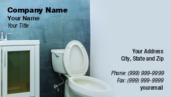 Bathroom Remodeling Business Cards