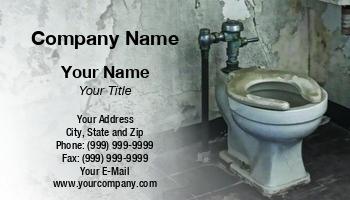 Bathroom Remodeling Business Cards