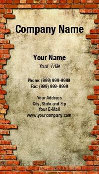 Masonry business cards at44627 colourmoves