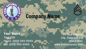 Army officer rank insignia business cards at47110 colourmoves