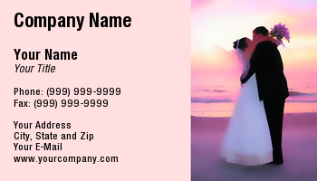 Bridal shop business cards at54781 reheart Images
