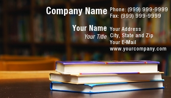 Bookstore business cards at55670 reheart Gallery