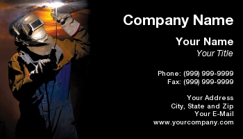 Welder Business Cards Page 1 Of 27