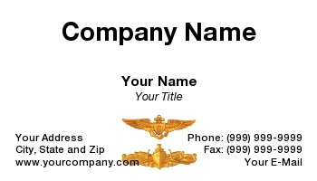Naval business cards navy new colourmoves