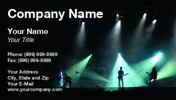 Concert venues business cards at84469 colourmoves