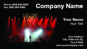 Stage lighting business cards at84606 colourmoves