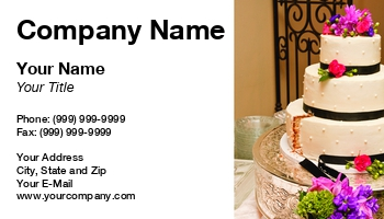 Cake decorator business cards at88565 reheart Image collections