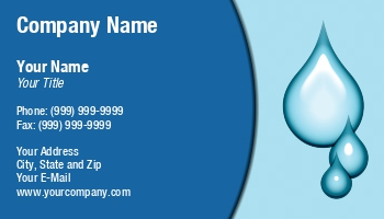Water pumping service business cards at96335 colourmoves